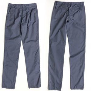 ❗️ Uniqlo Front Pleat Tapered Blue Chinos Size 0